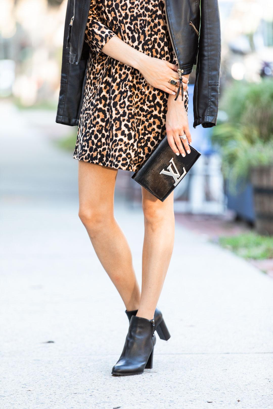 Pink Lily Boutique Leopard Dress