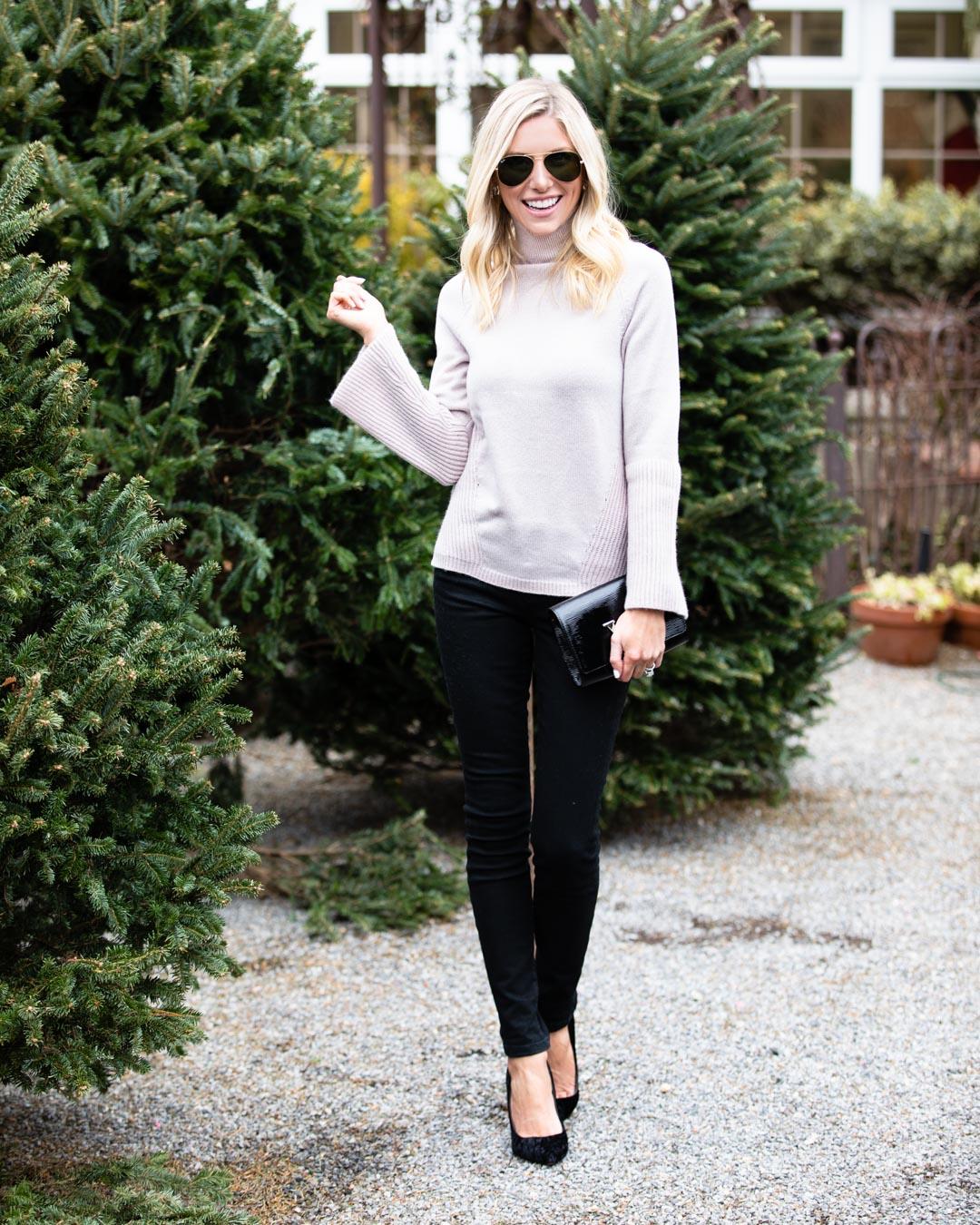 Raffi Cashmere Turtleneck Sweater