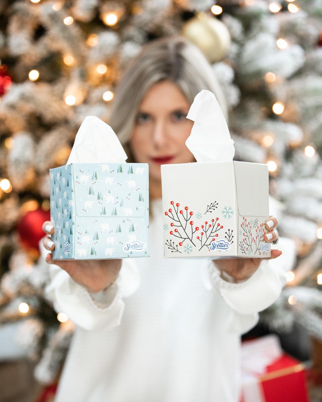 Scotties Winter Tissue Boxes