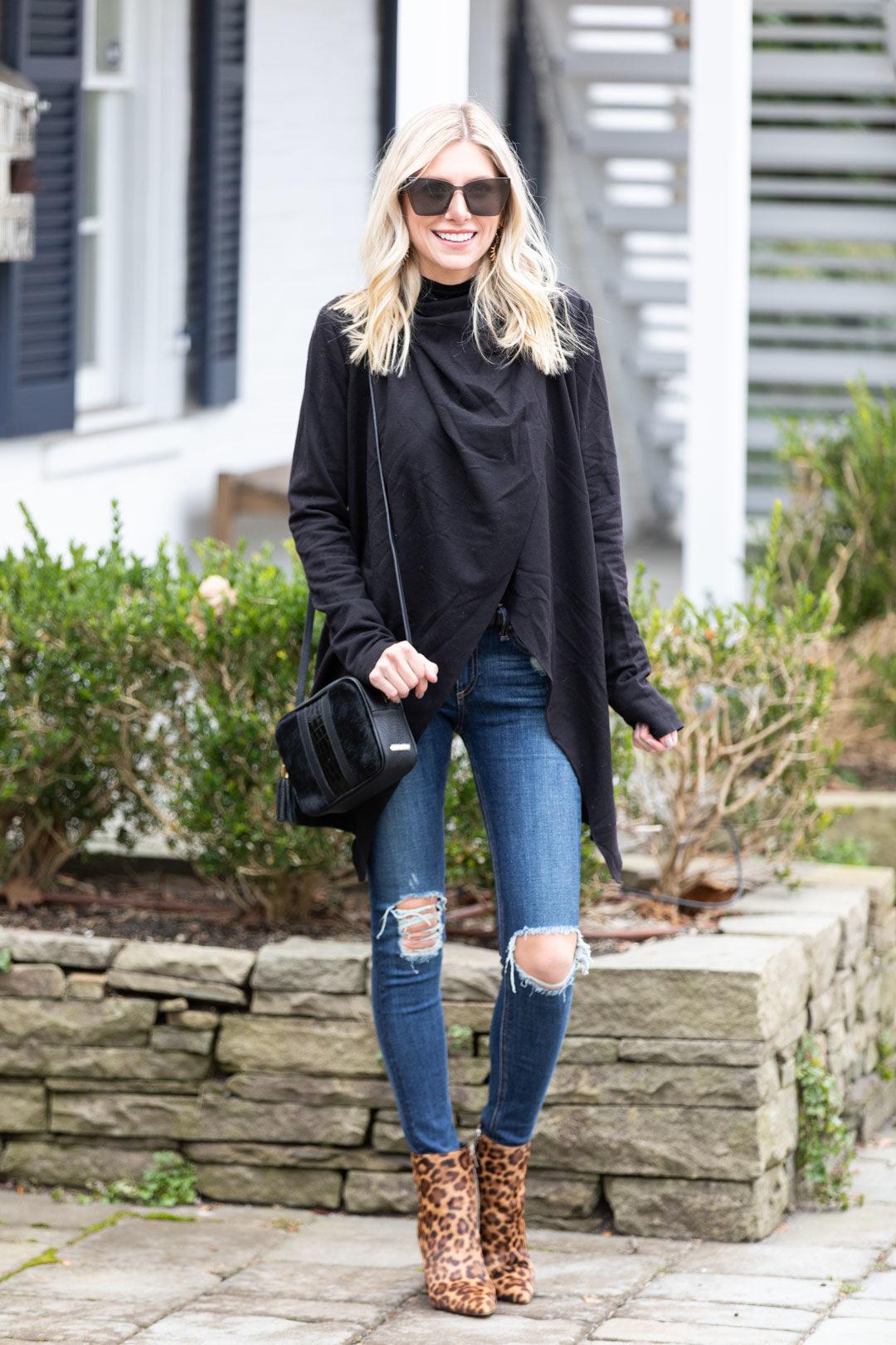 VICI Cozy Draped Sweater