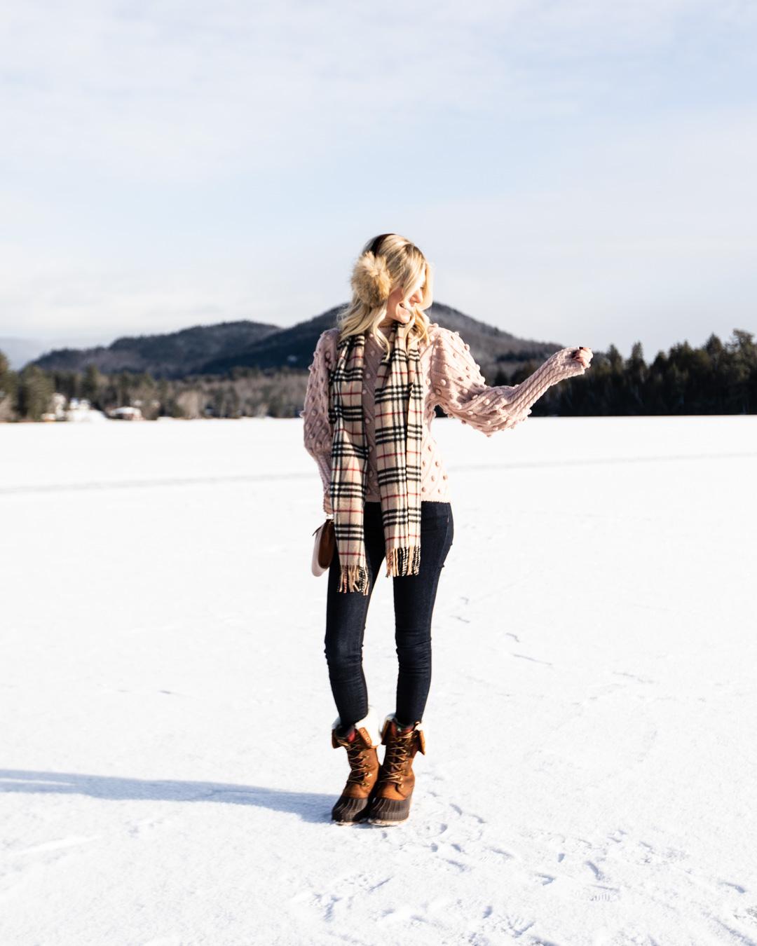 Blush Pom Pom Sweater