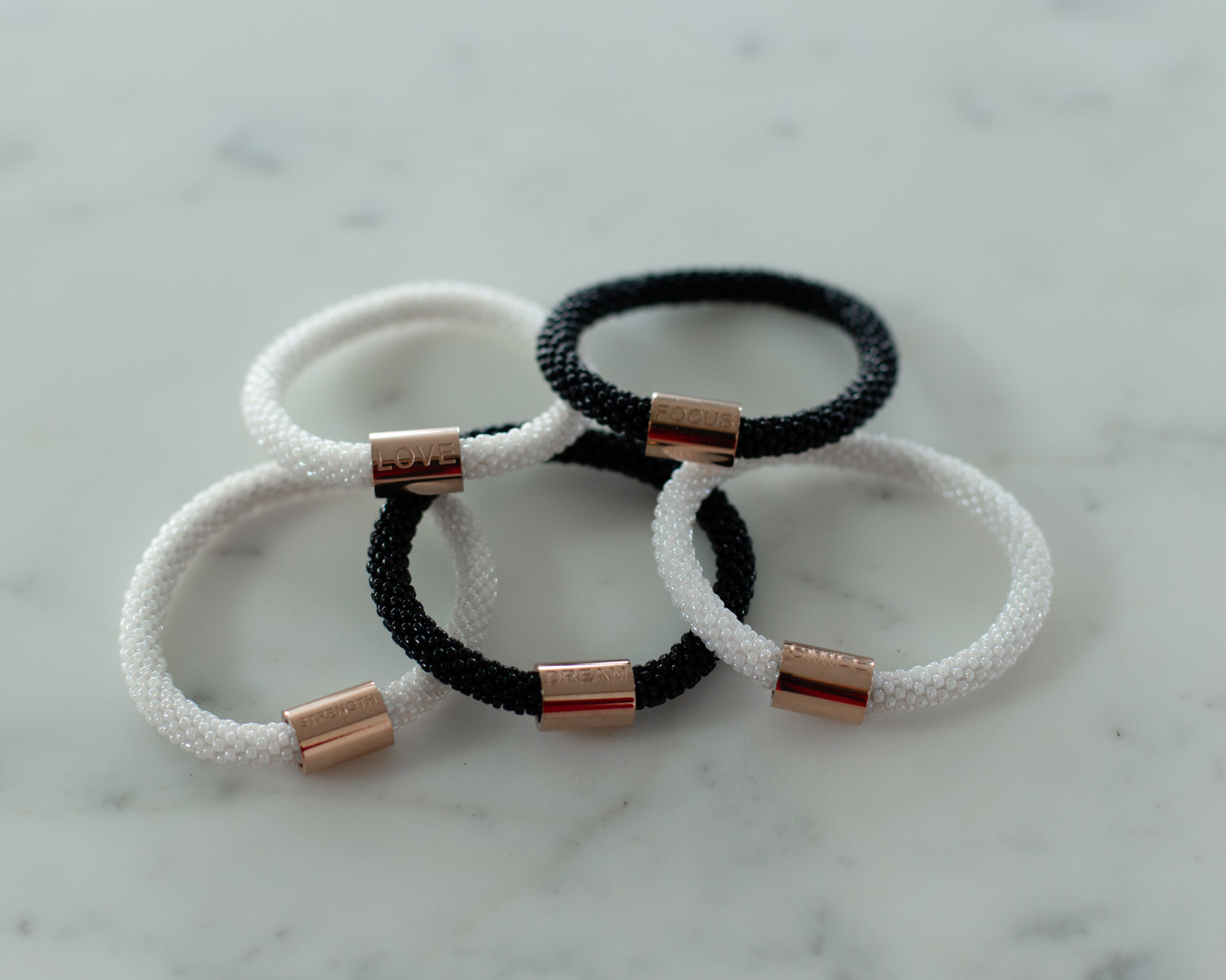 Saksha & Co Beaded Bracelets