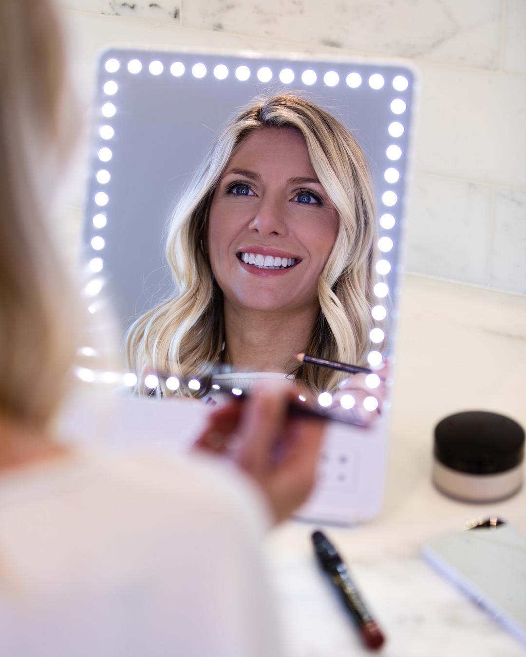 Glamcor RIKI SKINNY Makeup Mirror