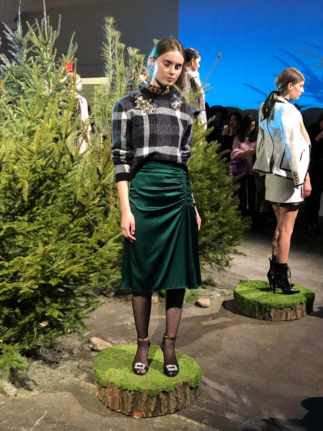 Veronica Beard Presentation Plaid and Tweed