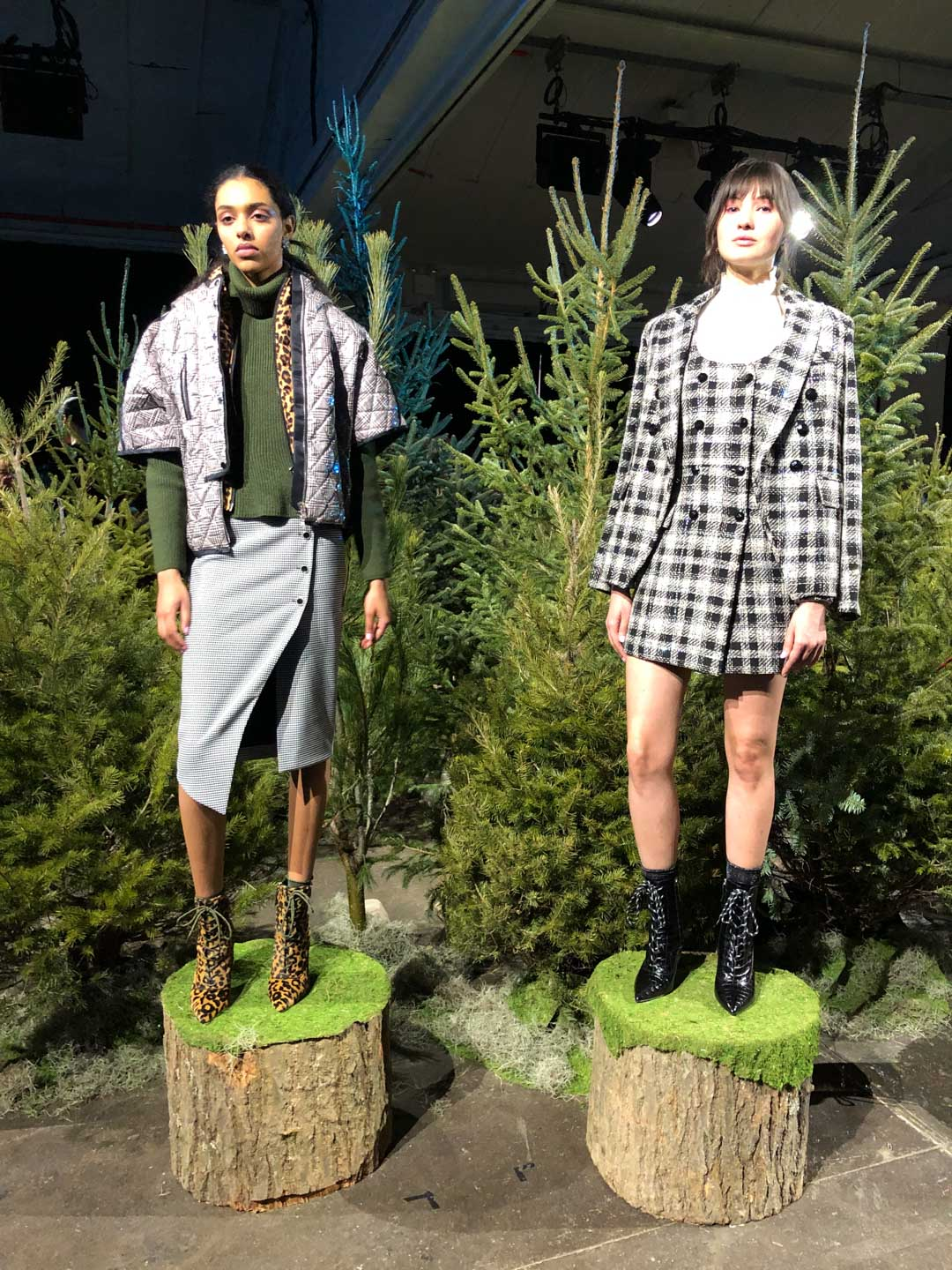 Veronica Beard Presentation Plaid and Leopard