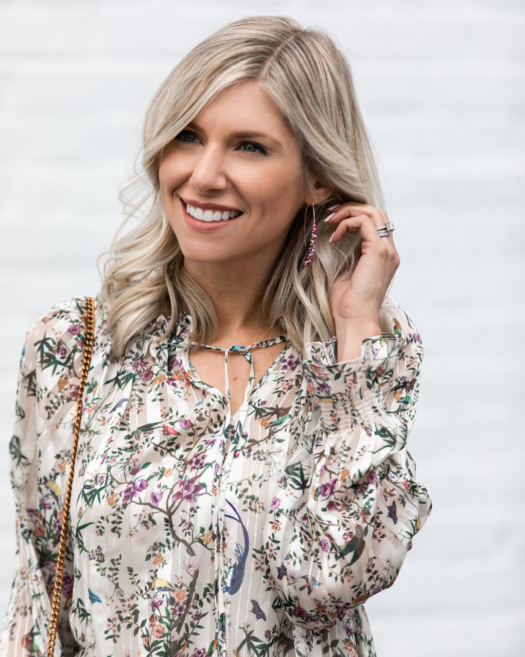 Floral Top for Spring