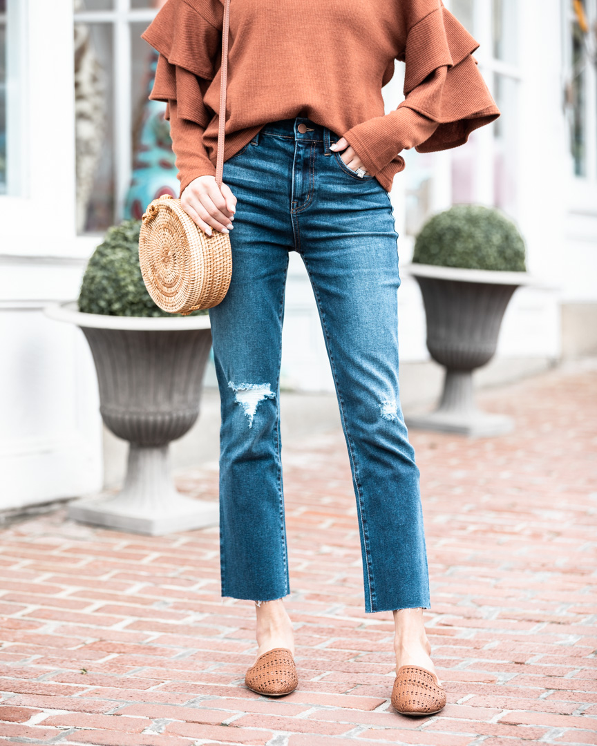 Level 99 Cropped Jeans