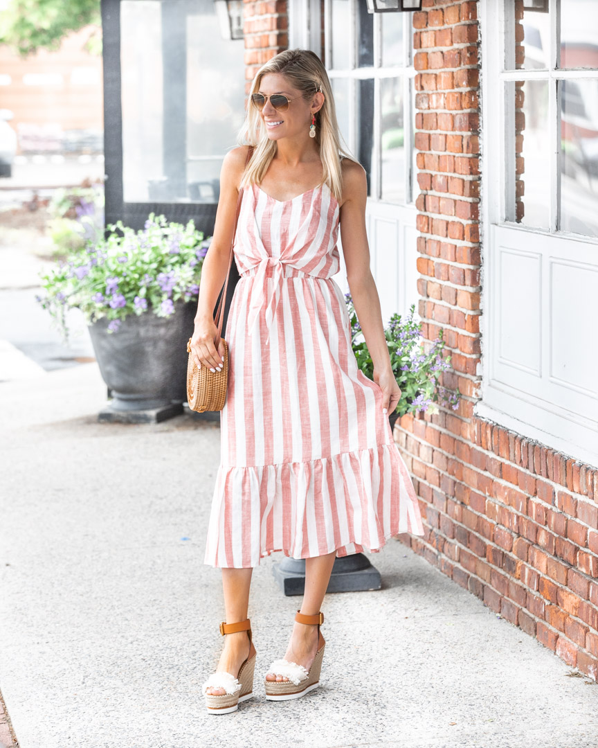 trendy pal nautical striped dress for summer