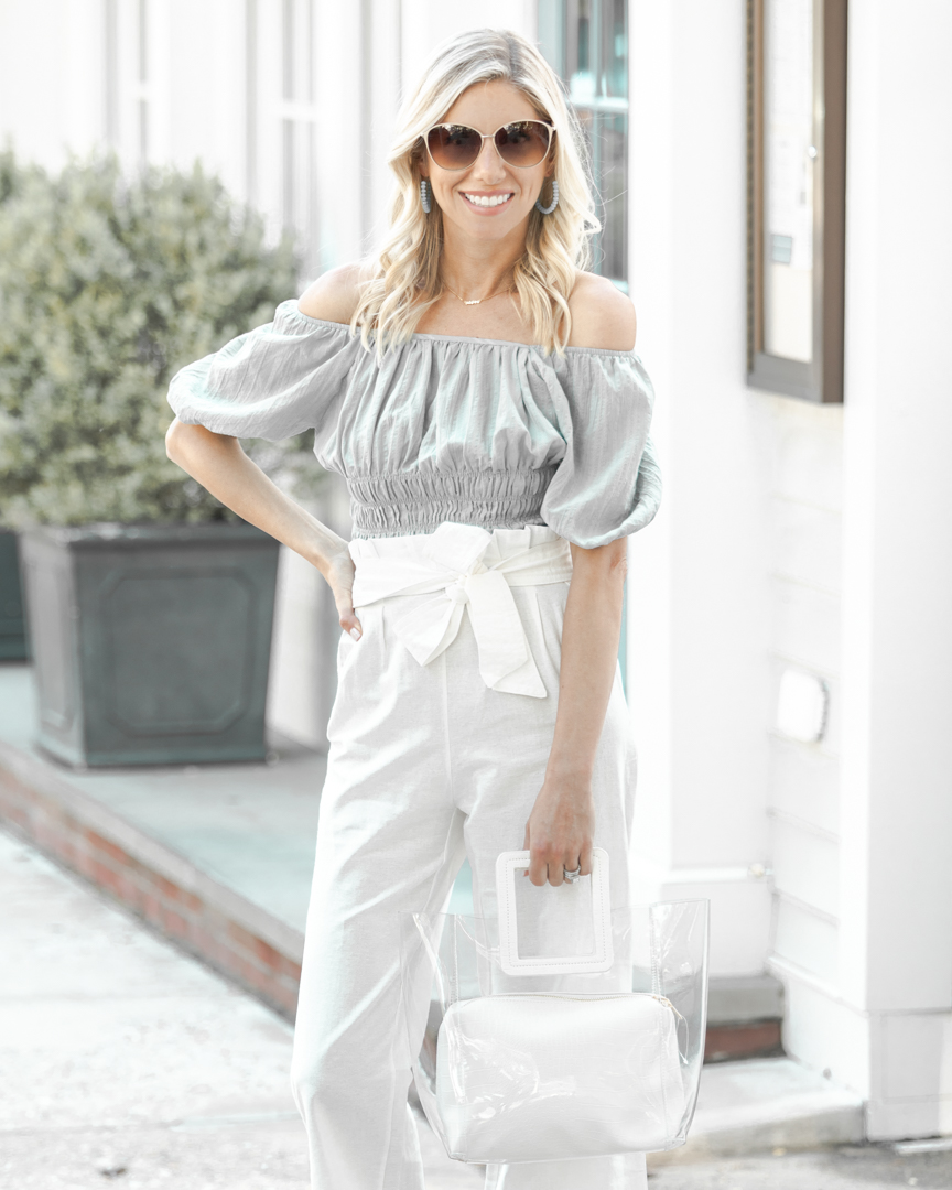 the perfect summer off the shoulder top