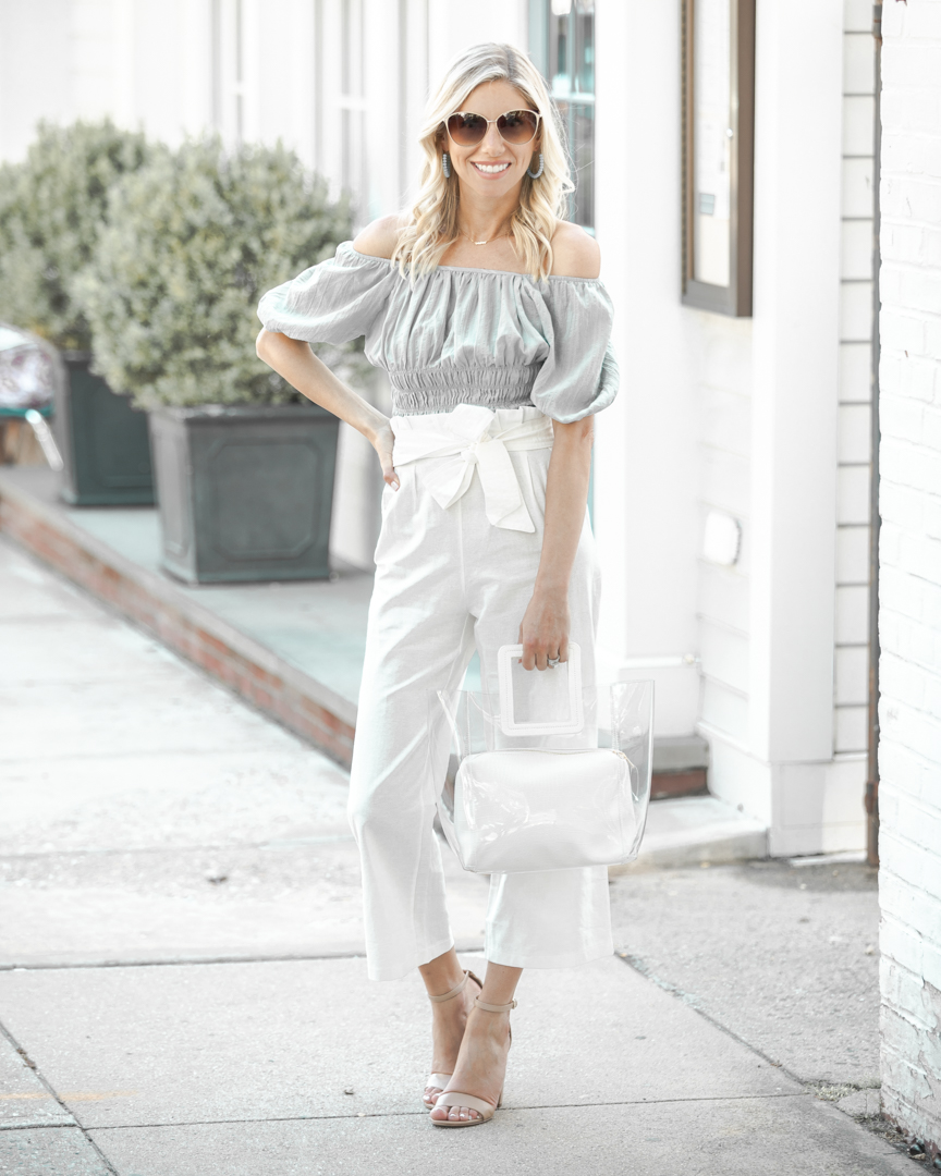 white linen pants for summer