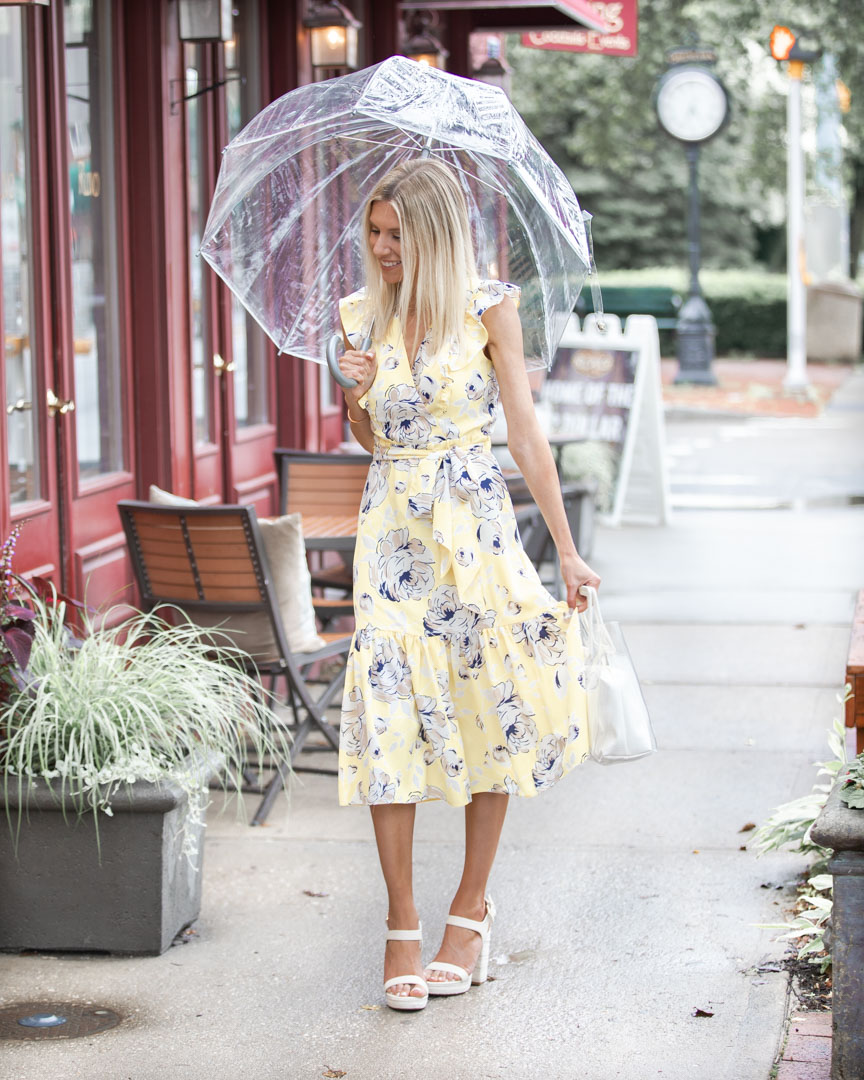 the perfect summer wrap dress