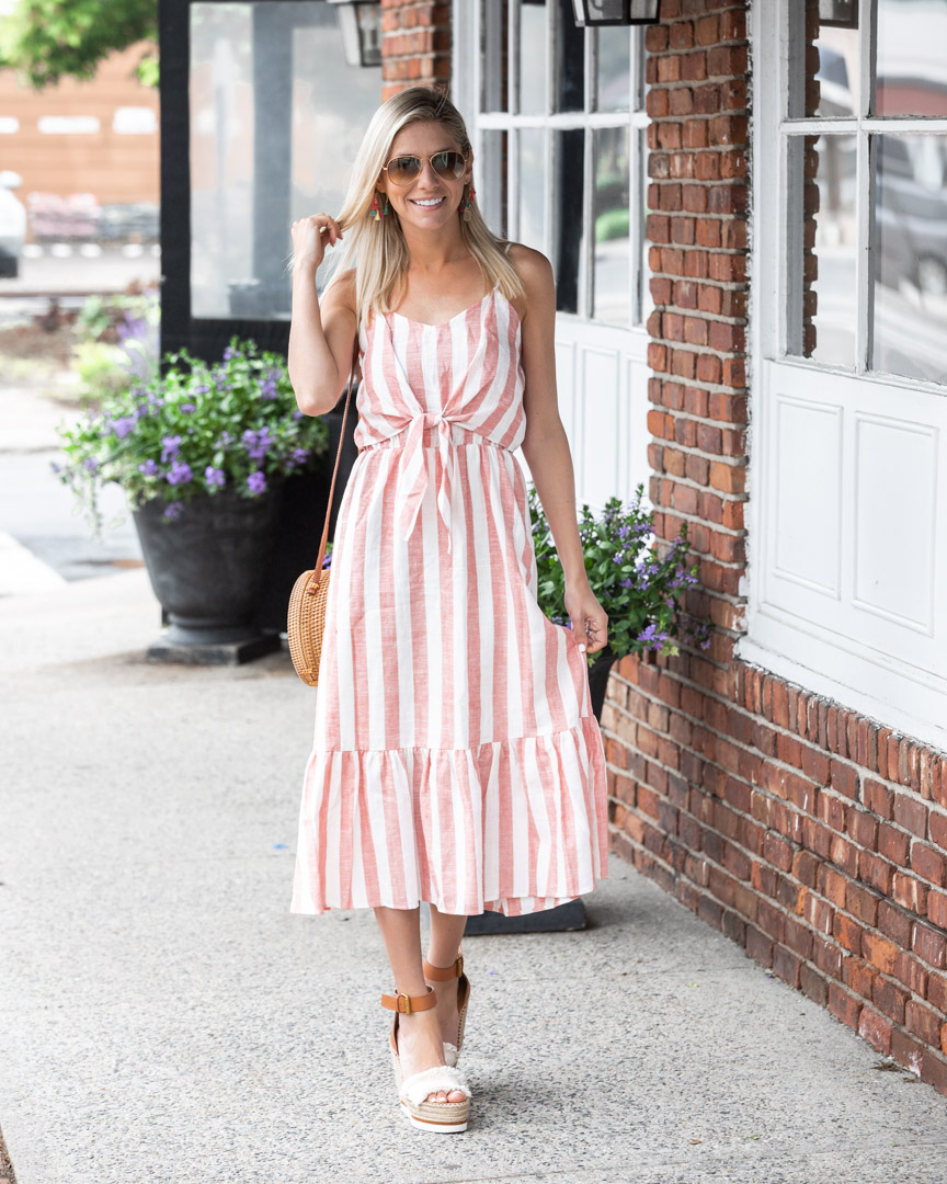 trendy pal collaboration striped summer dress The-Glamorous-Gal