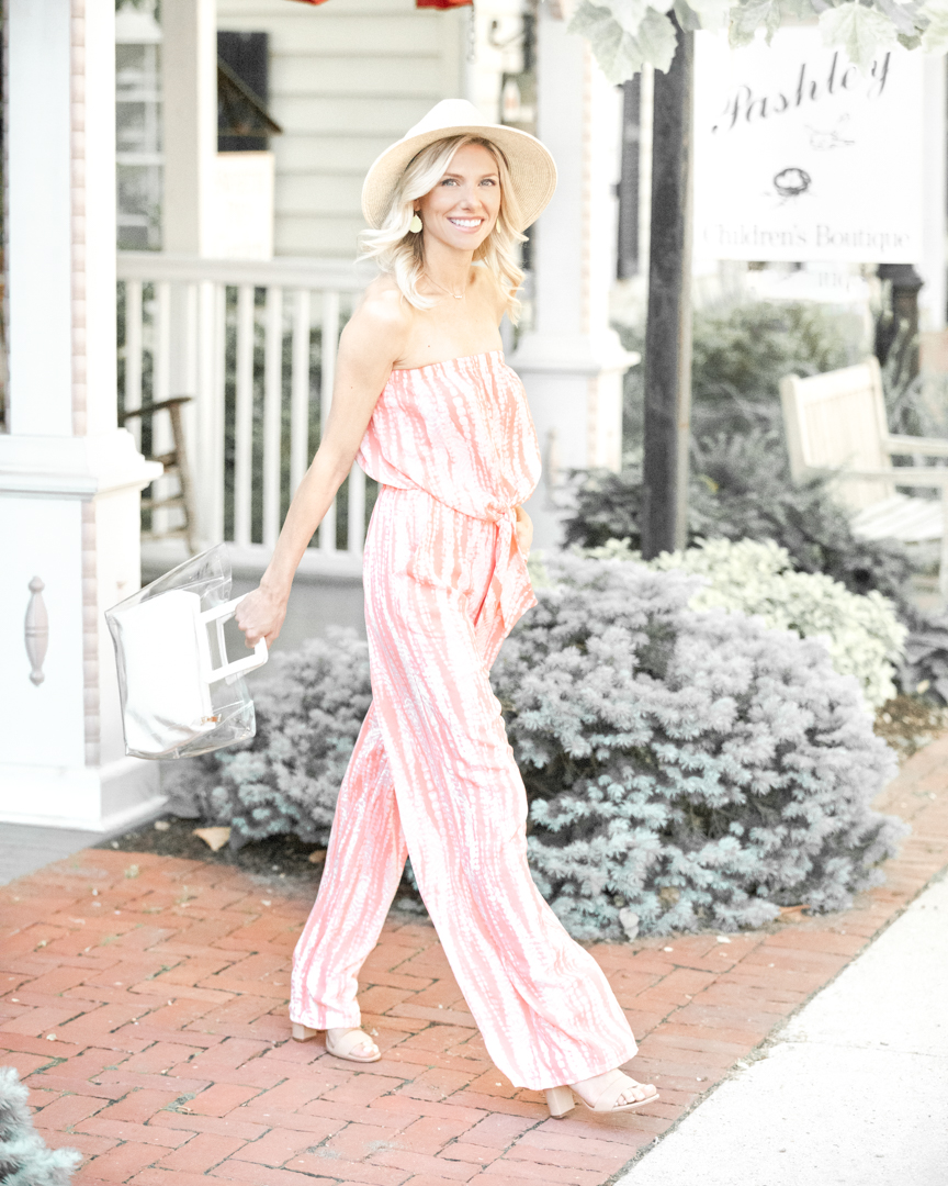 light and bright summer jumpsuit