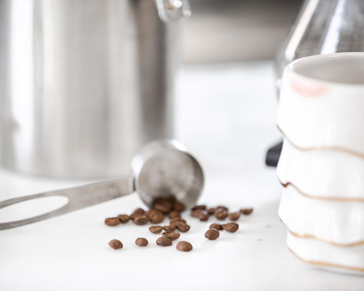 fresh local coffee beans The Glamorous Gal