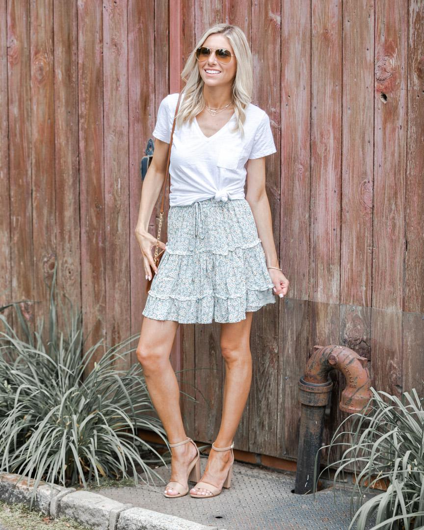 flirty summer outfit