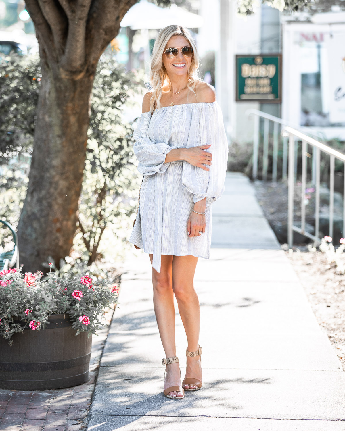 casual and light summer dress The Glamorous Gal
