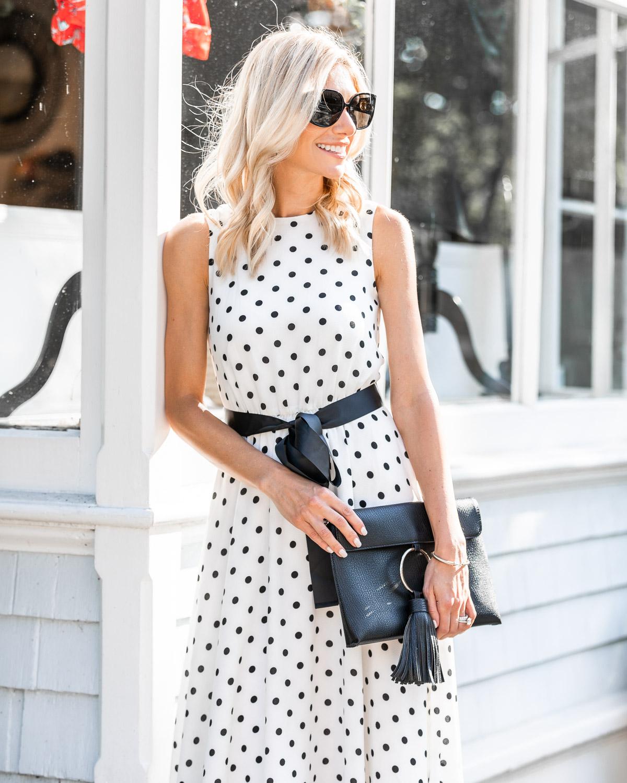 eliza j summer midi dress The Glamorous Gal