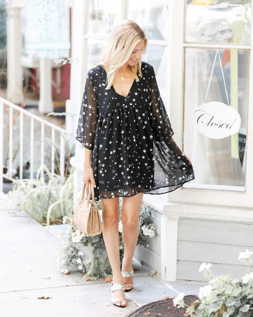 light and airy fall dress The Glamorous Gal