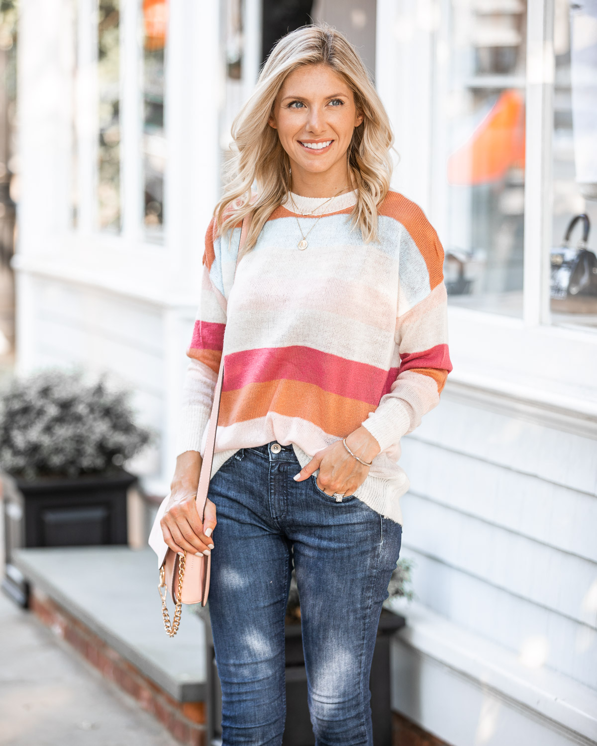 light and airy fall sweater The Glamorous Gal