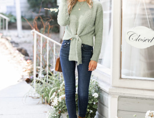 the perfect fall look from goodnight macaroon The Glamorous Gal