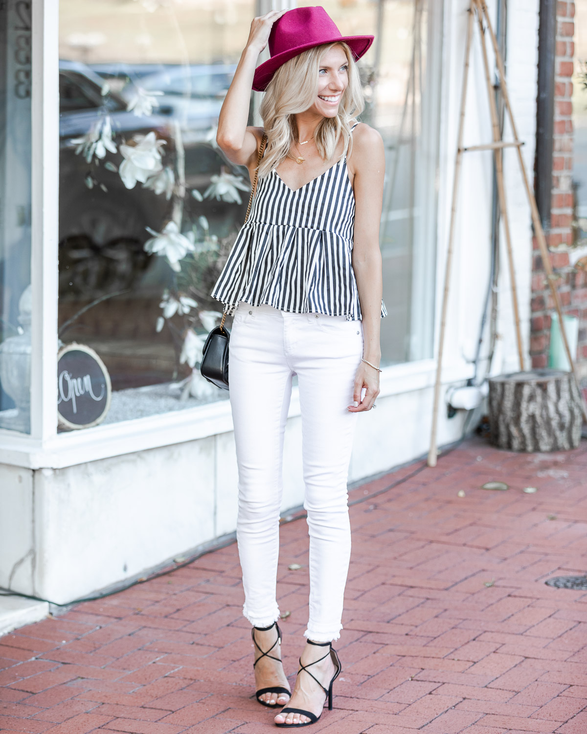 the perfect fall transition tank top The Glamorous Gal