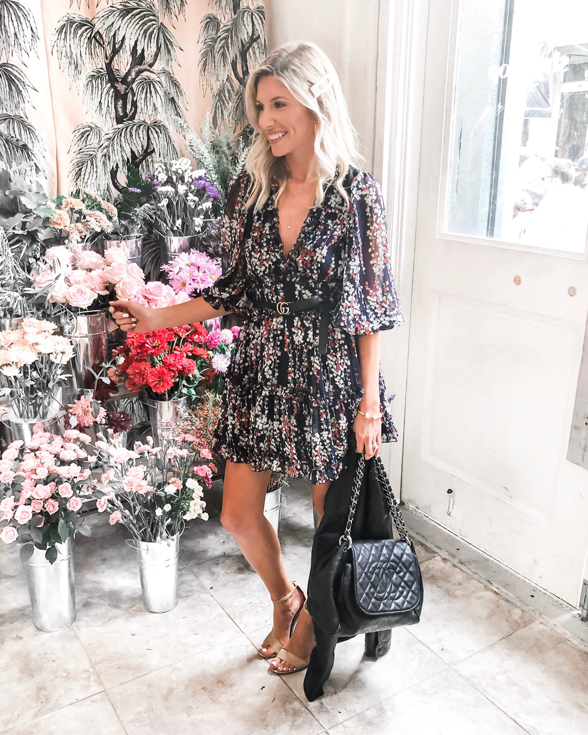 shopbop pop up with tezza wearing vici