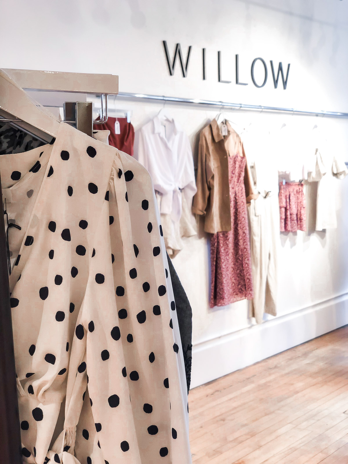 willow & clay showroom