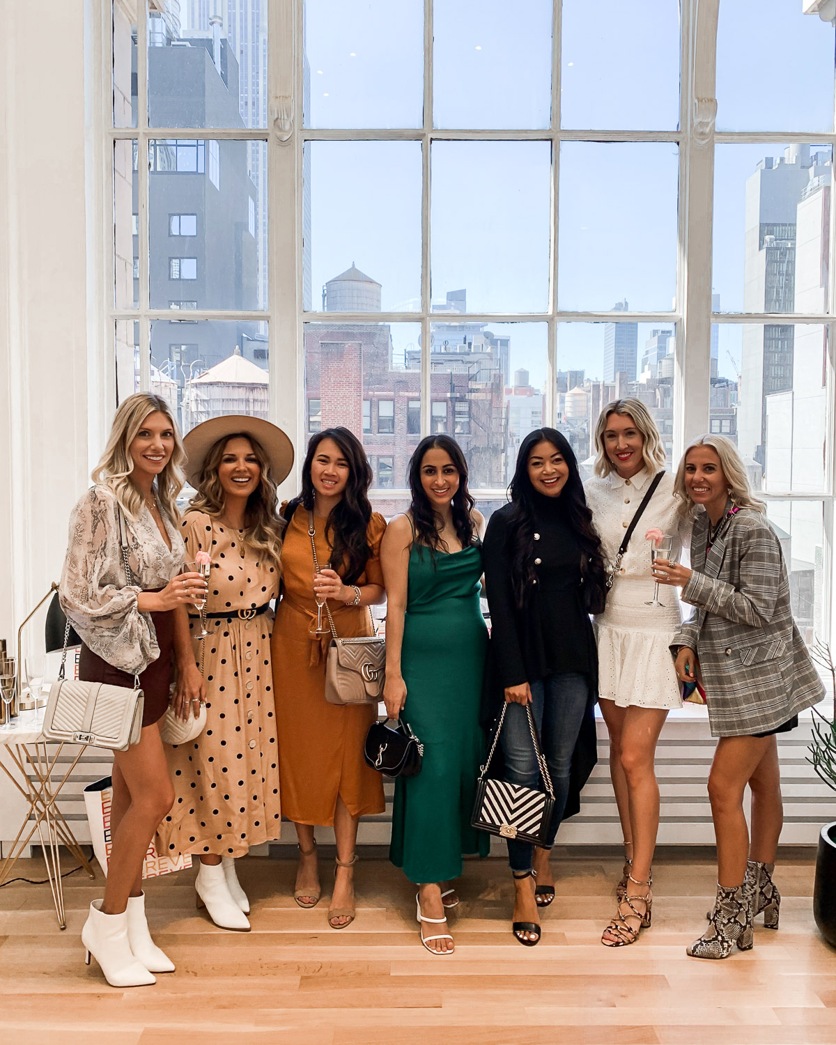 fashion influencers at nyfw
