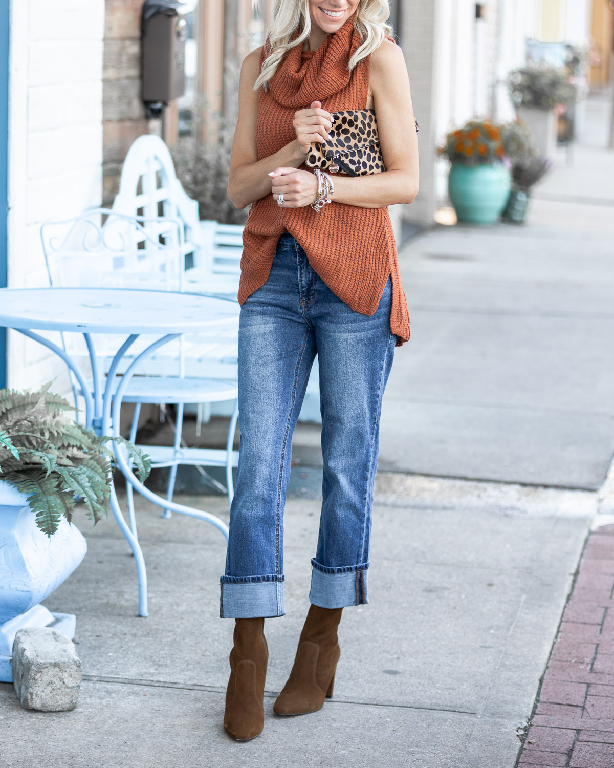boho chic fall outfit inspiration The Glamorous Gal