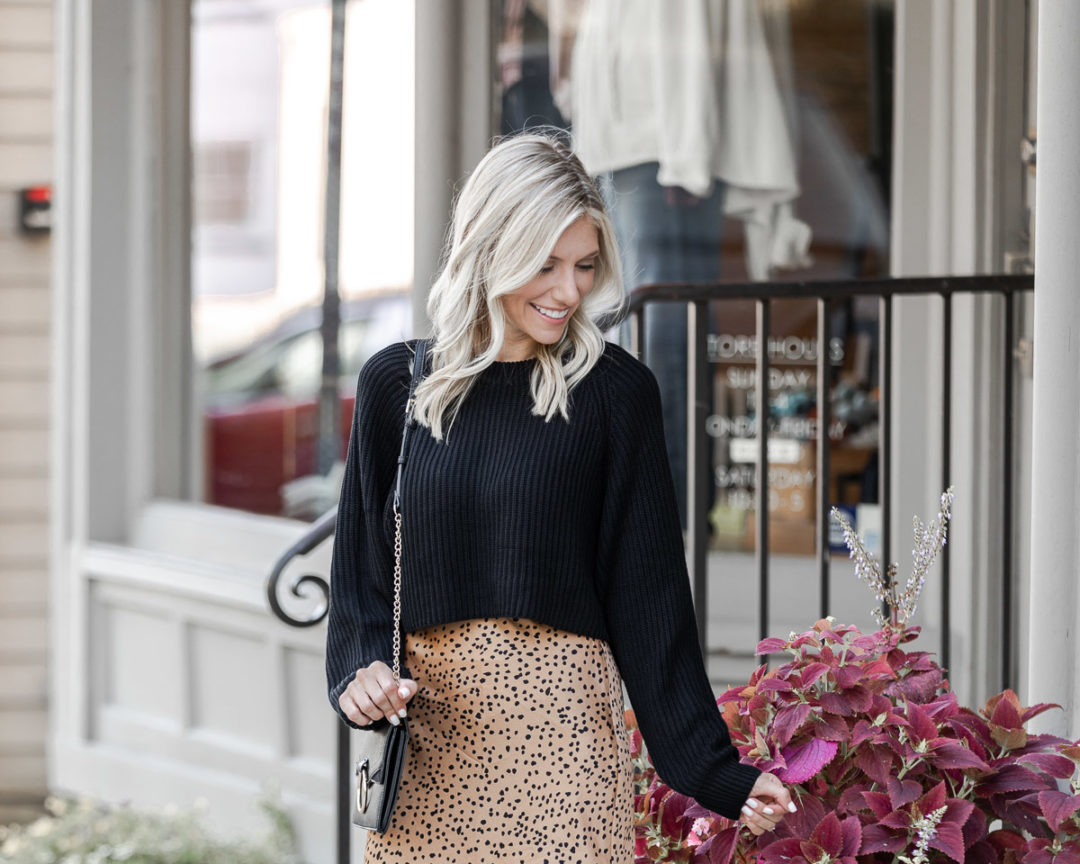 cheetah print midi skirt - featured photo - The Glamorous Gal