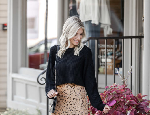 cheetah print midi skirt - featured photo - The Glamorous Gal