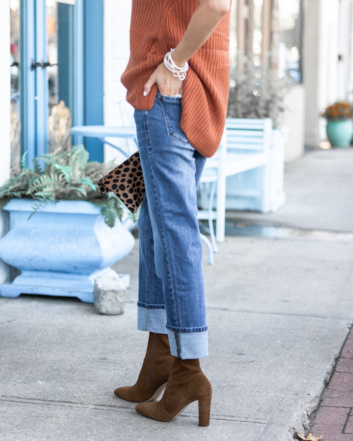 fall denim from kensie The Glamorous Gal