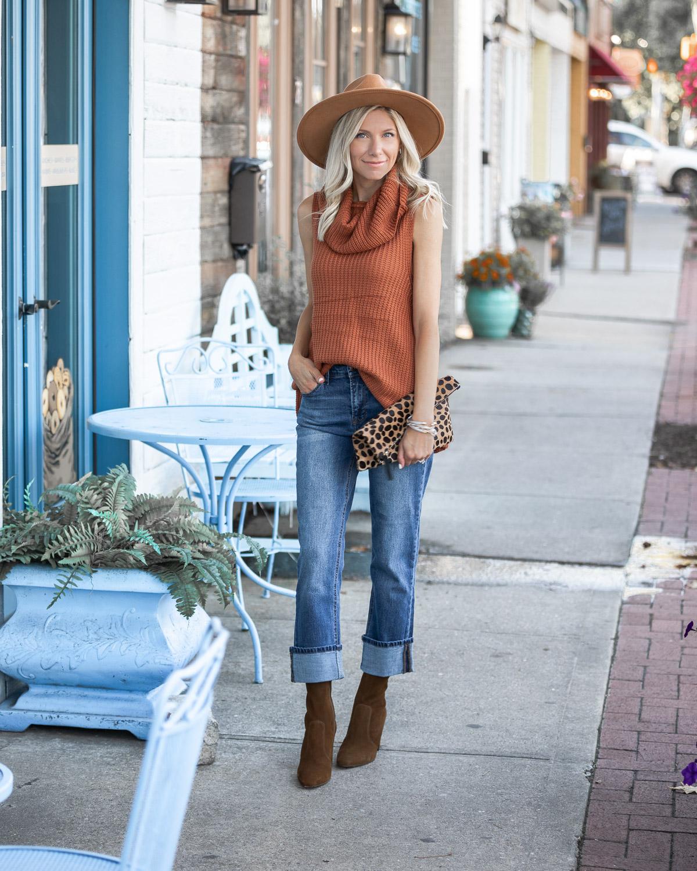 kensie wide leg jeans The Glamorous Gal