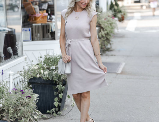 the perfect baby shower dress for fall The Glamorous Gal