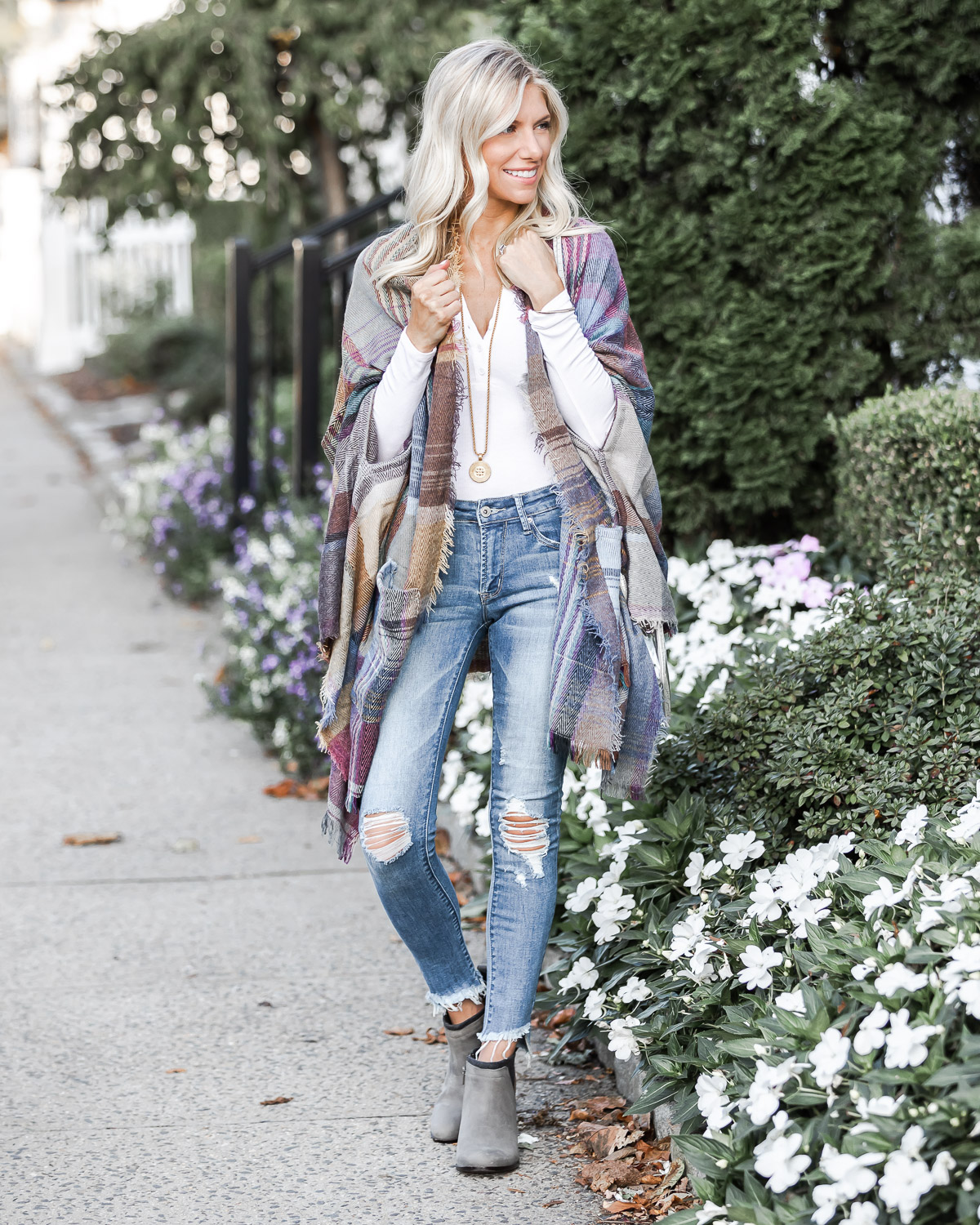 comfortable and casual booties for fall The Glamorous Gal