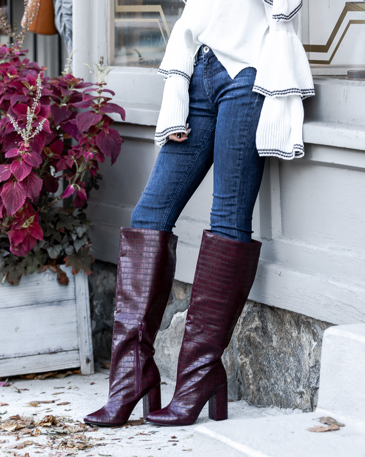 just fab over the knee boots The Glamorous Gal