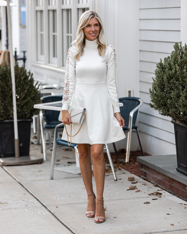 white ysl crossbody bag The Glamorous Gal