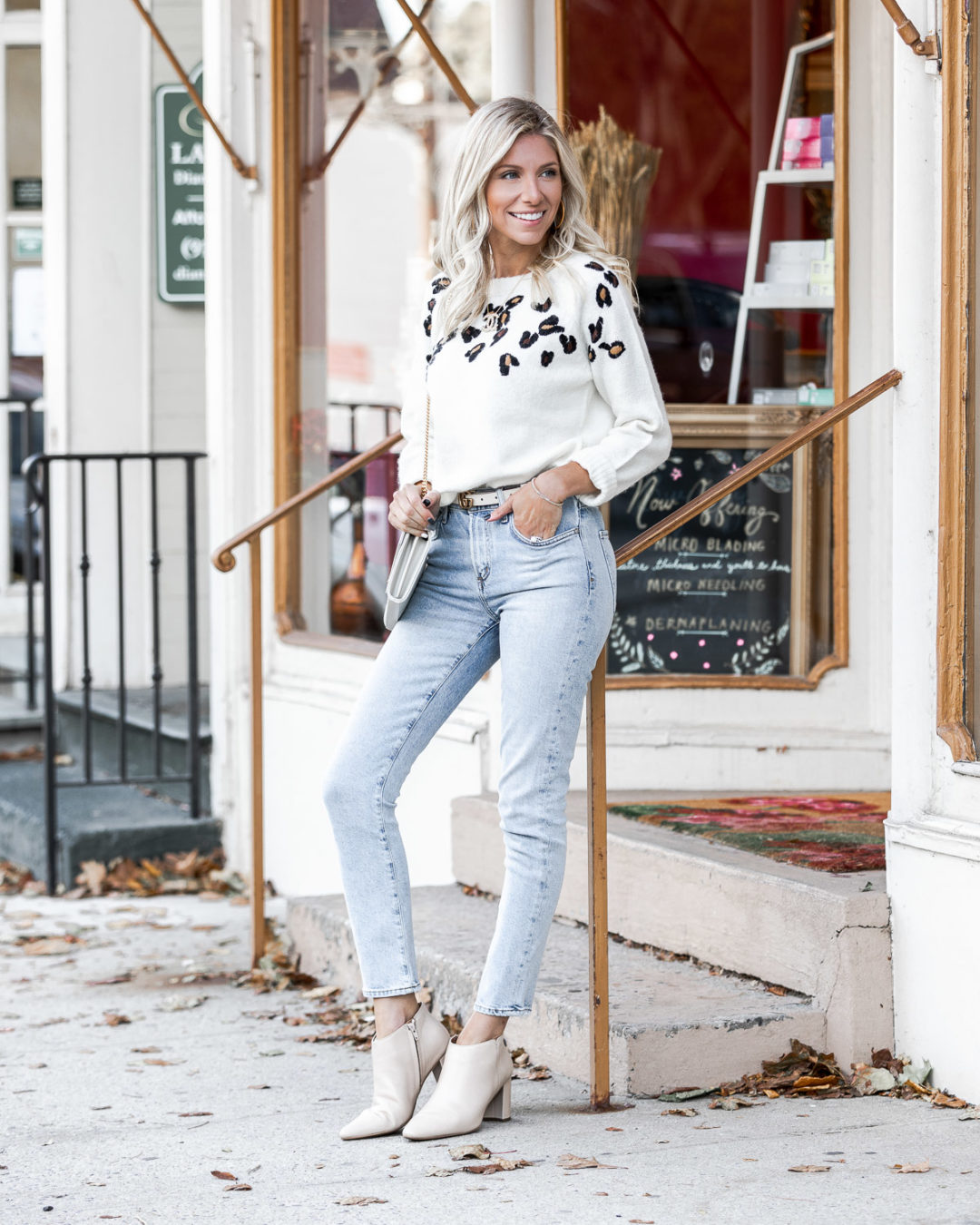 willow & Clay leopard sweater The Glamorous Gal