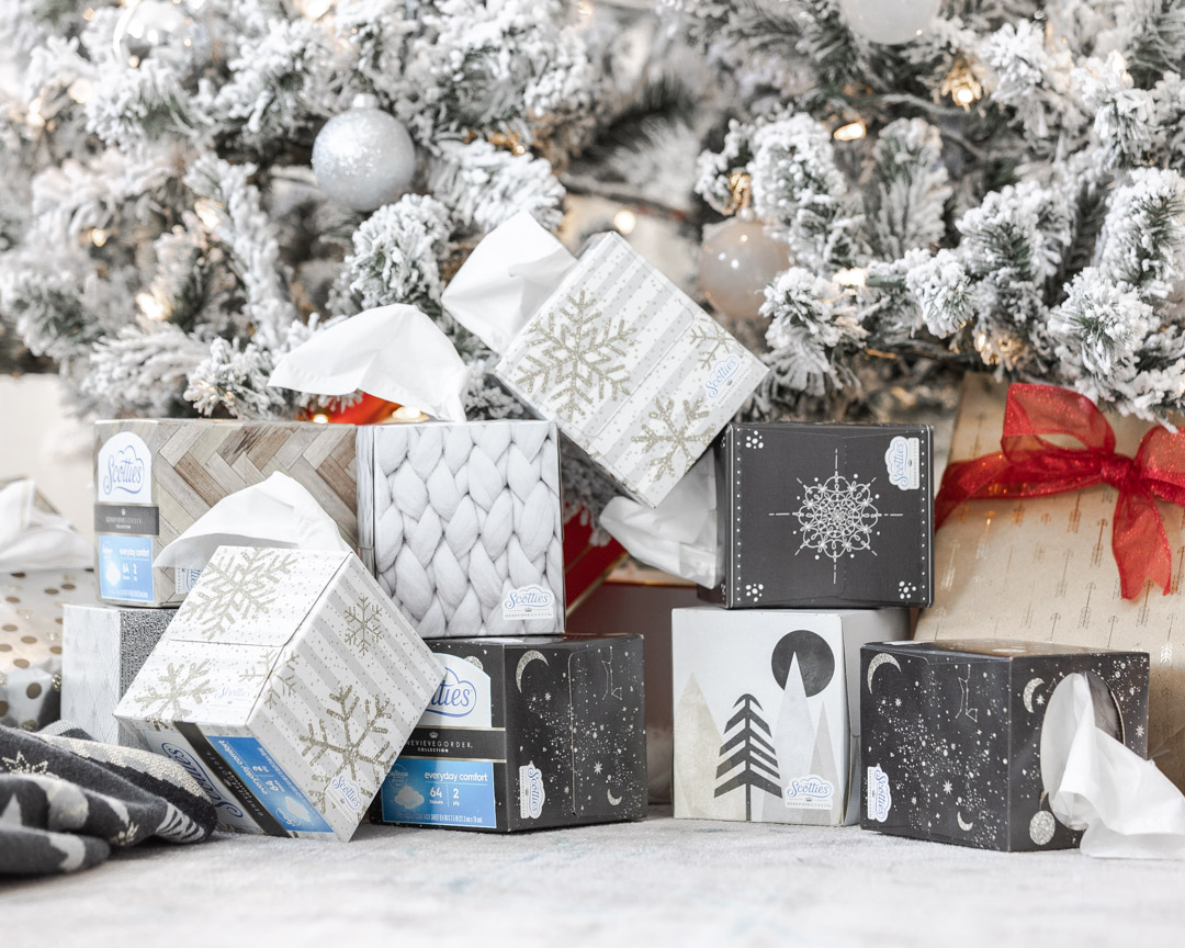 winter inspired scotties tissue boxes The Glamorous Gal