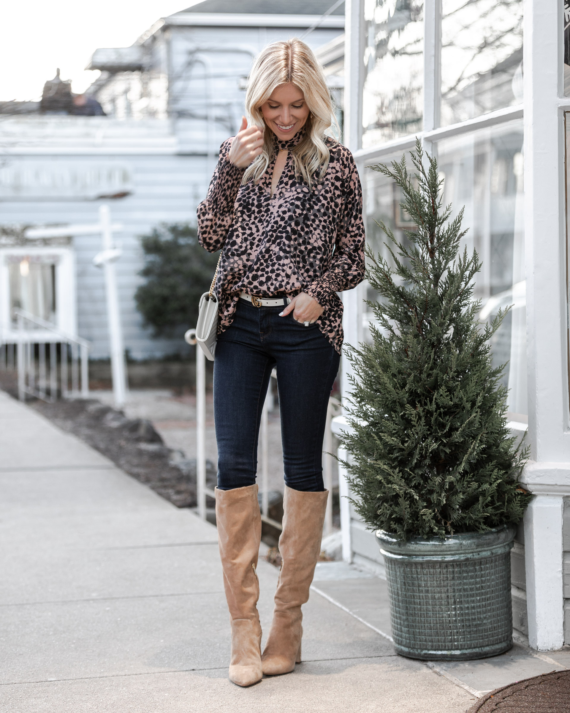 cutout-top-and-over-the-knee-boots-the-glamorous-gal