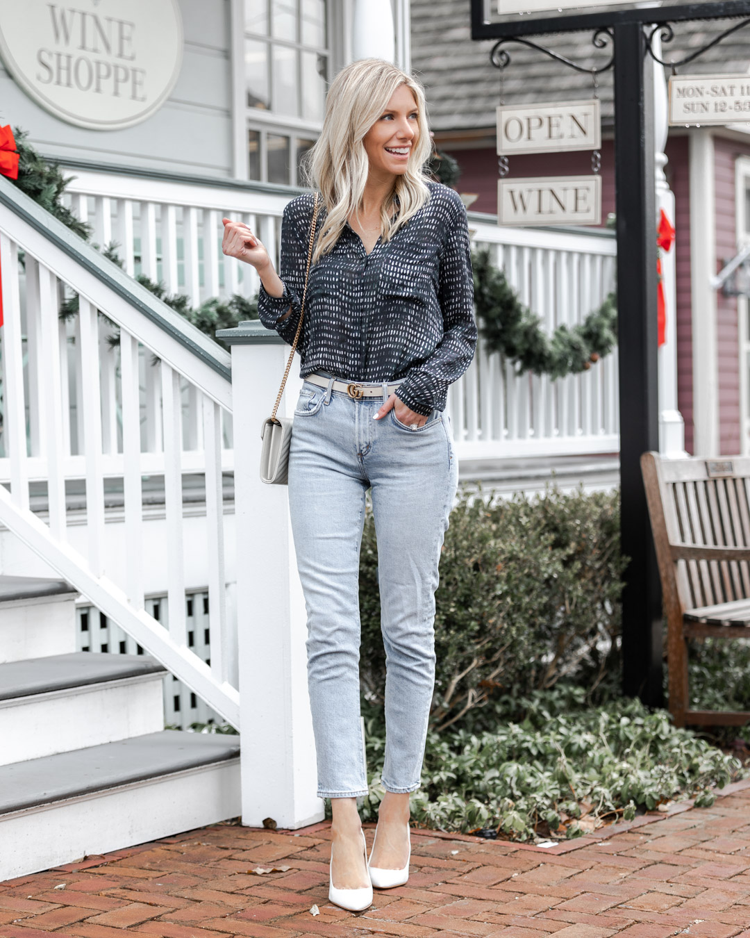 the perfect casual blouse from evereve The Glamorous Gal