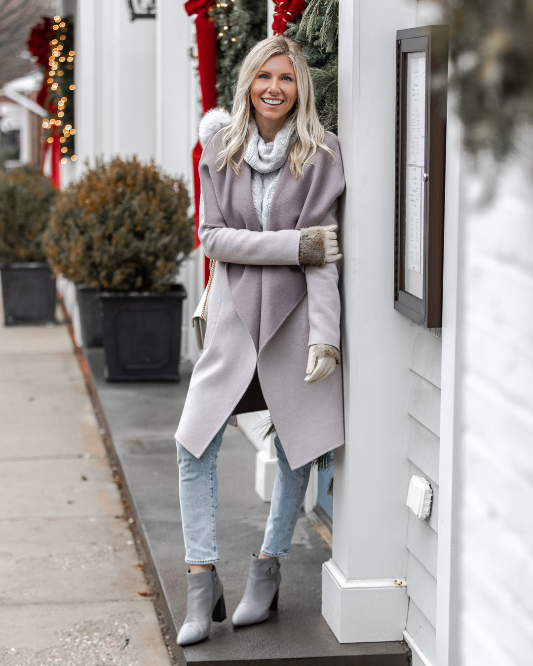 the perfect winter casual look The Glamorous Gal