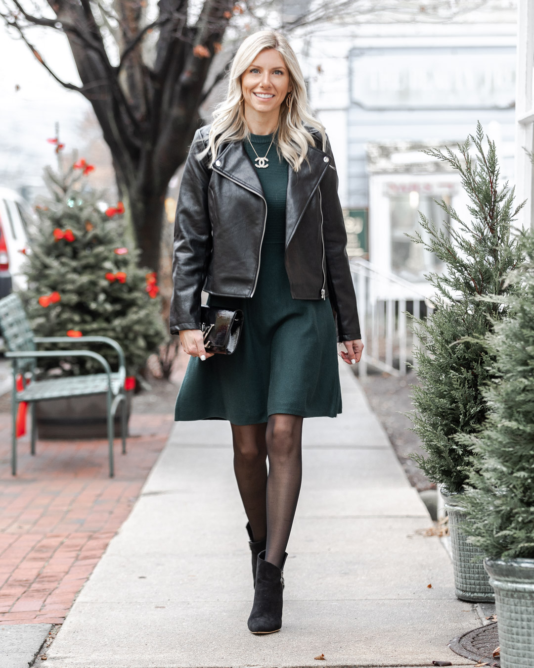 the perfect winter dress for work or play The Glamorous Gal