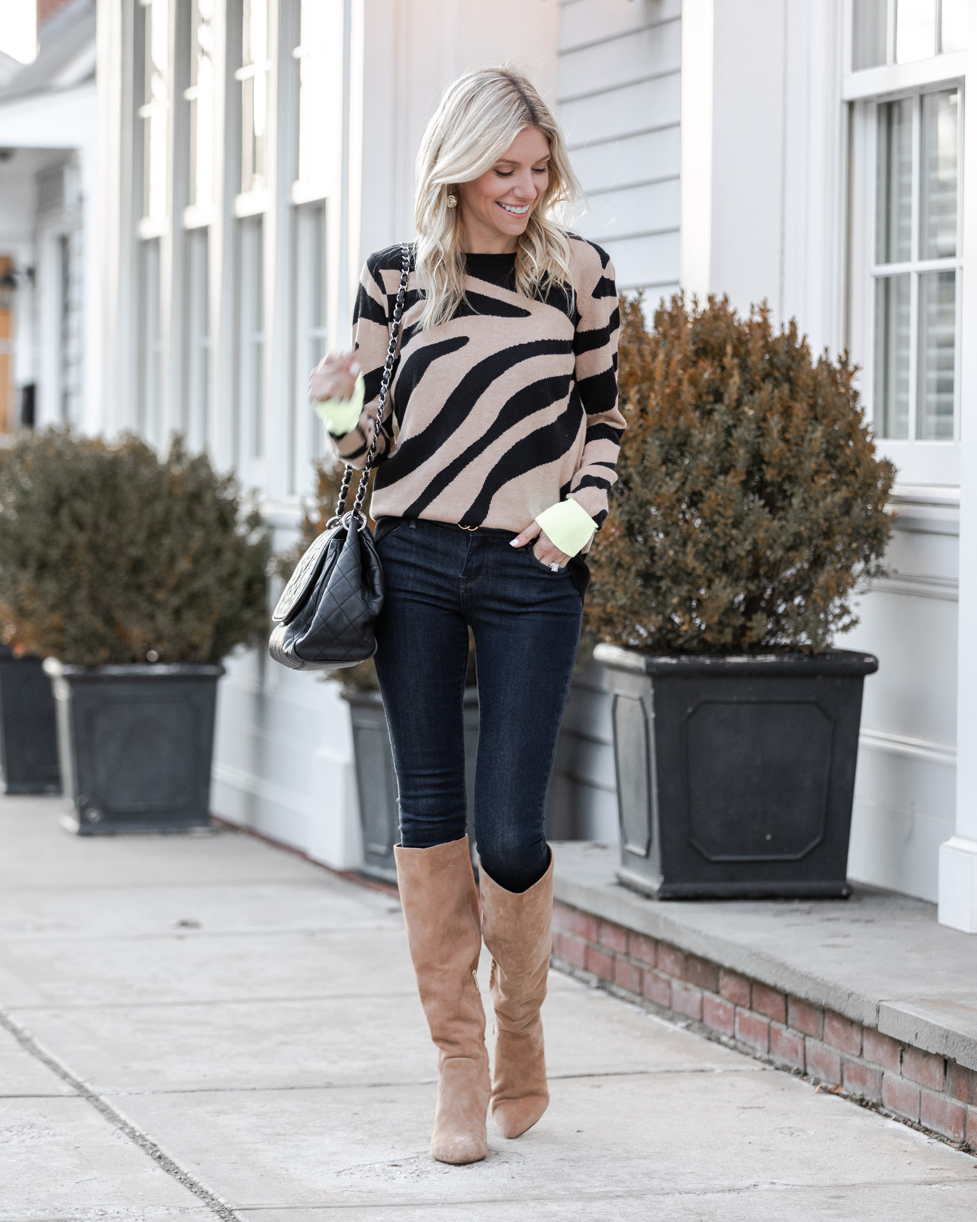 zebra-print-sweater-from-evereve-the-glamorous-gal