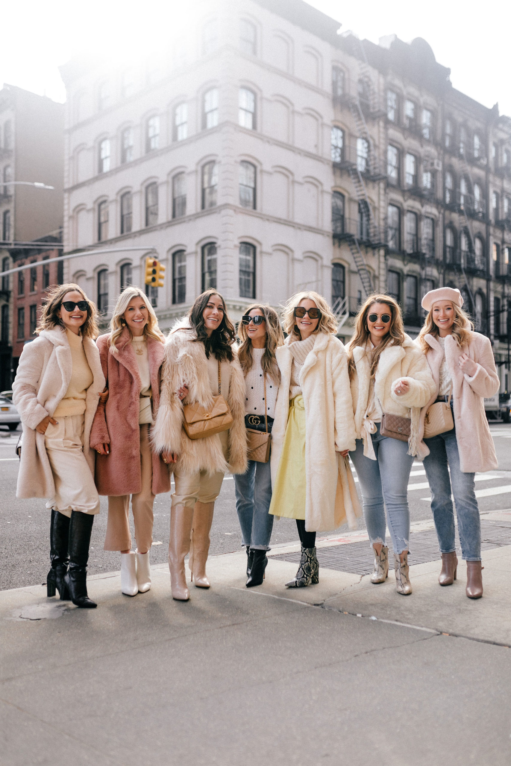 nyfw girl squad in new york city