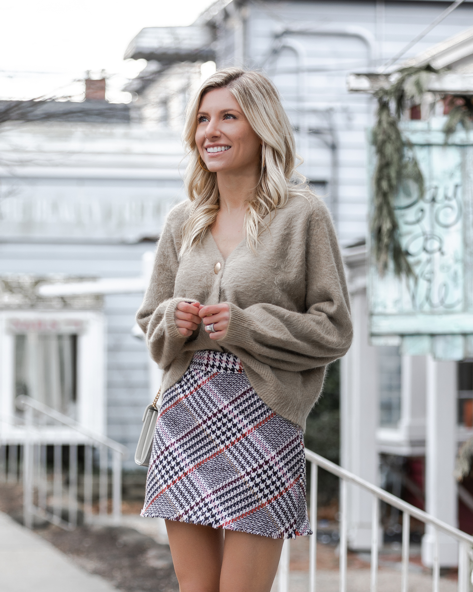 gold-button-sweater-and-mini-skirt-from-princess-polly-the-glamorous-gal