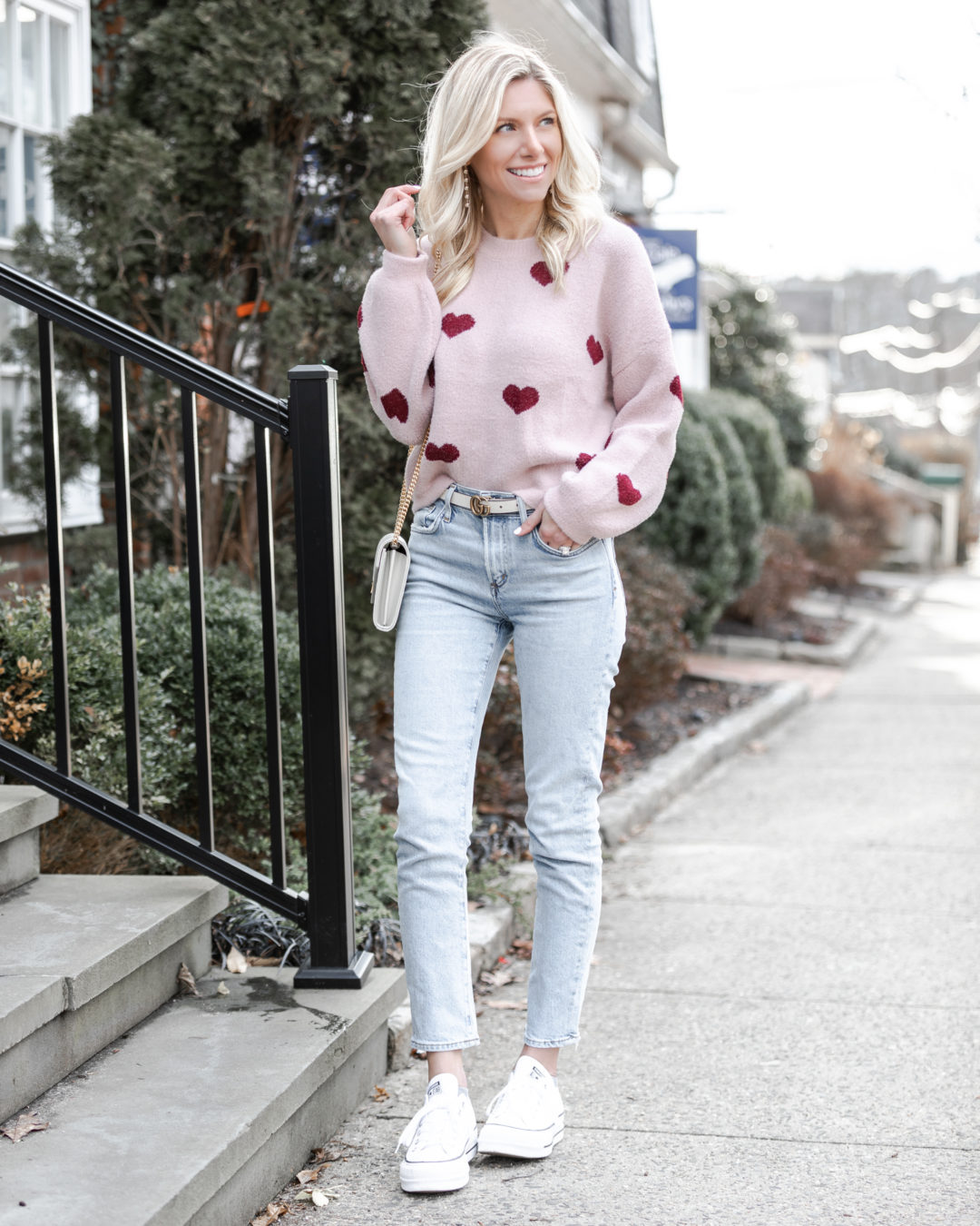 heart-sweater-and-cutoff-white-wash-jeans-the-glamorous-gal