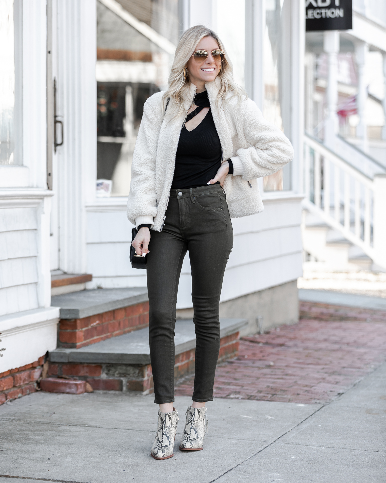 how-to-style-coated-denim-the-glamorous-gal