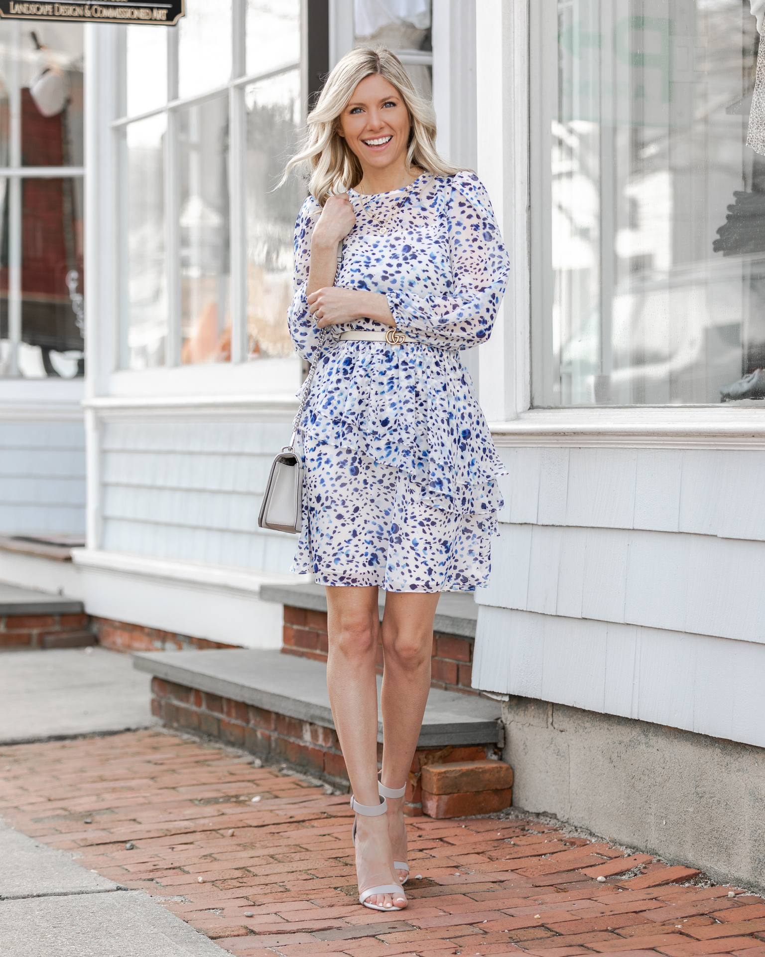 modest-easter-dress-in-blue-speckle-the-glamorous-gal