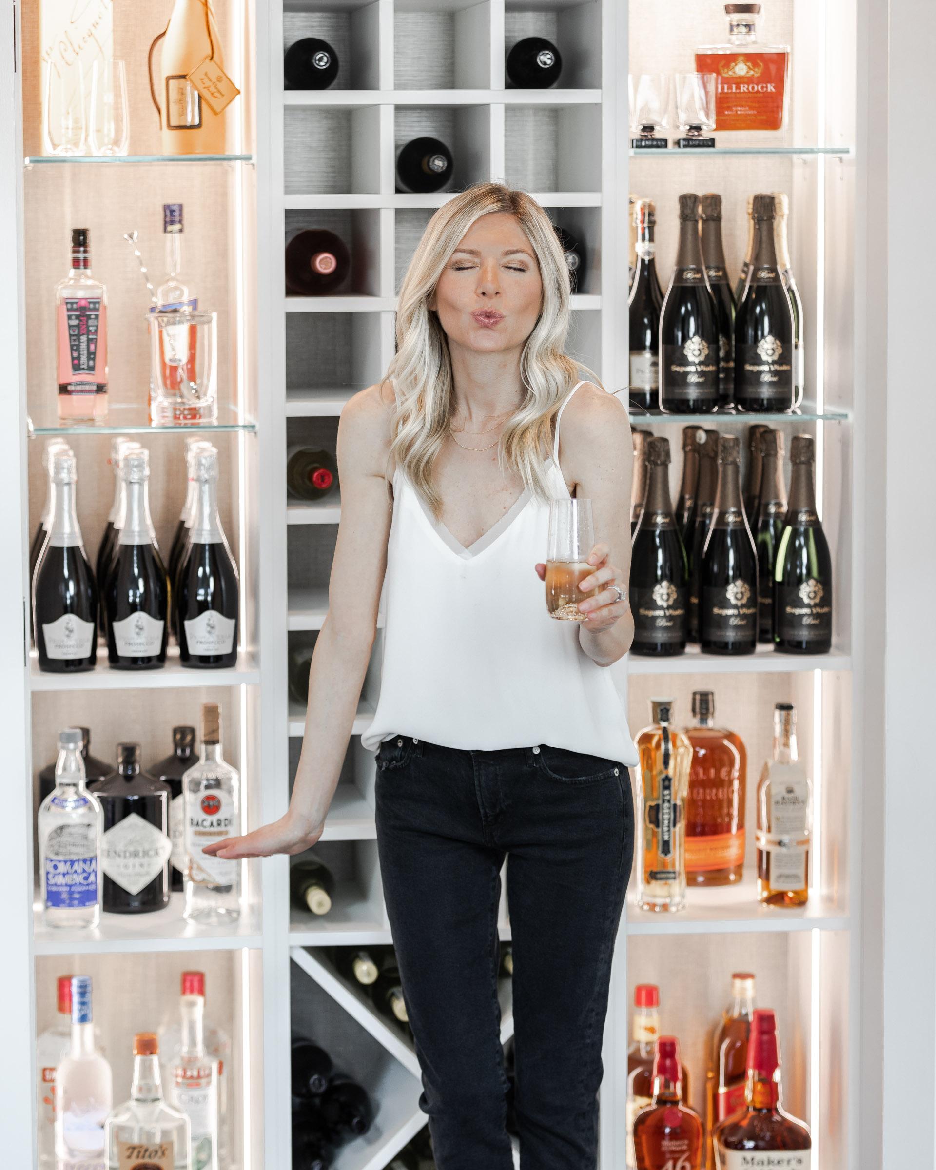 liquor-closet-organization-with-lights-kiss-face-the-glamorous-gal